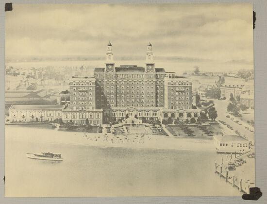 Hotel Chamberlin Postcard, c. 1948 (image)
