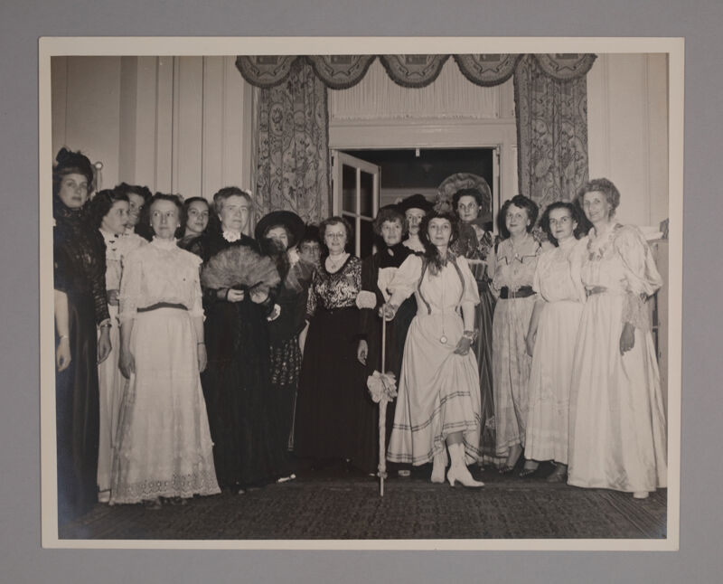 Gay Nineties Party at Convention Photograph, June 24-29, 1950 (Image)