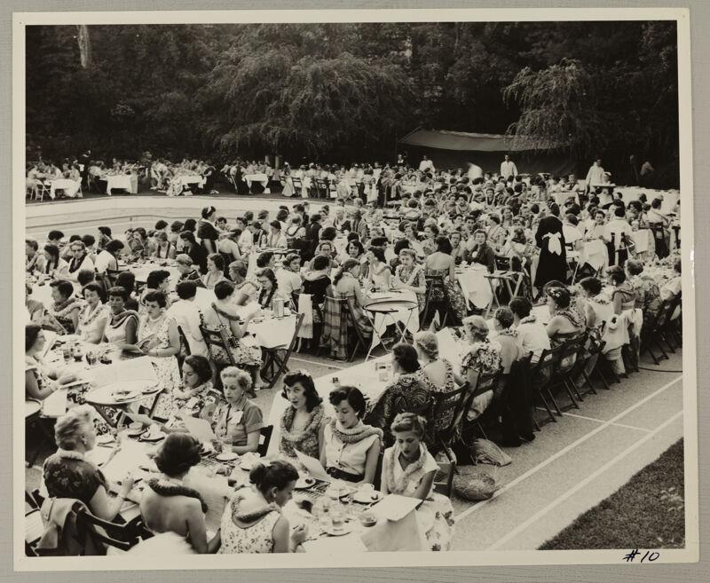 Hawaiian Luau at Convention Photograph 5, July 11, 1954 (Image)