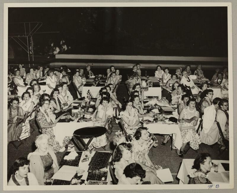 Hawaiian Luau at Convention Photograph 4, July 11, 1954 (Image)