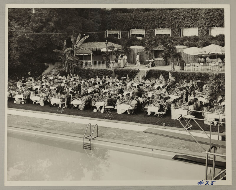 Hawaiian Luau at Convention Photograph 3, July 11, 1954 (Image)