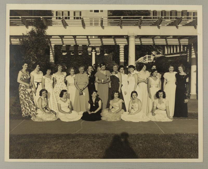 District V Delegates at Convention Photograph, June 24-29, 1950 (Image)