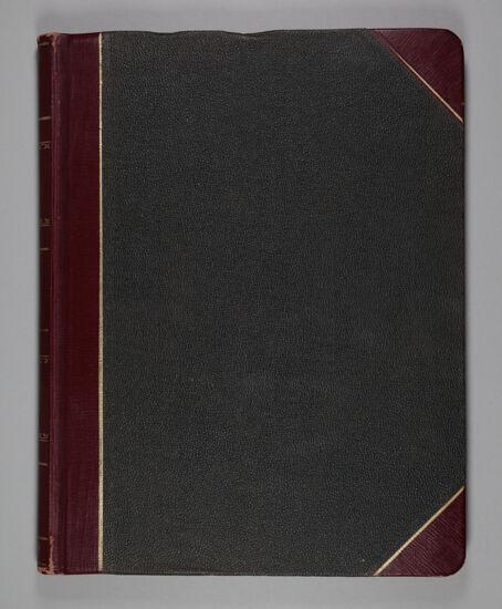 Phi Mu Convention Register, 1923-1927 (Image)