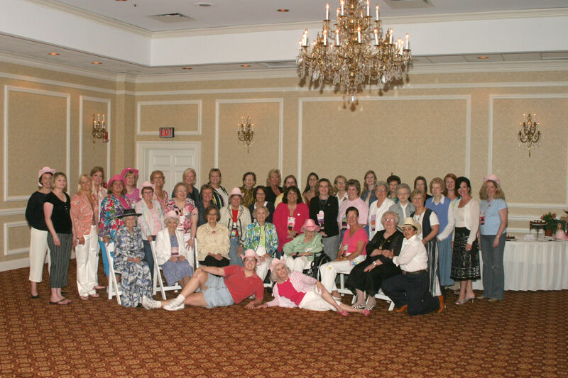 Convention 1852 Dinner Group Photograph 2, July 14, 2006 (Image)