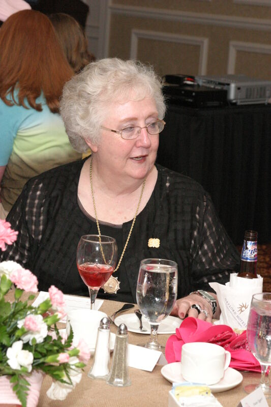 Claudia Nemir at Convention 1852 Dinner Photograph, July 14, 2006 (Image)