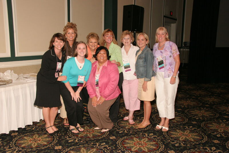 Monnin, Williams, and Award Winners at Friday Convention Session Photograph 5, July 14, 2006 (Image)