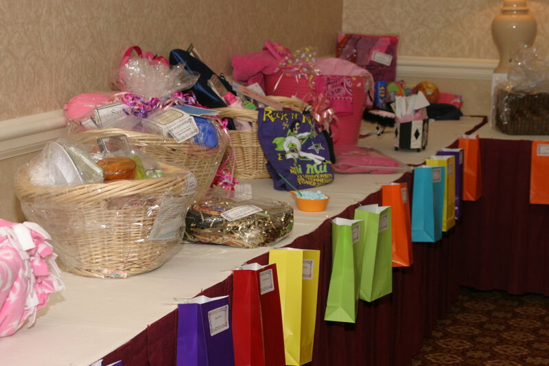 Gift Baskets Displayed at Convention Photograph 3, July 2006 (Image)