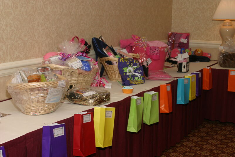 Gift Baskets Displayed at Convention Photograph 4, July 2006 (Image)