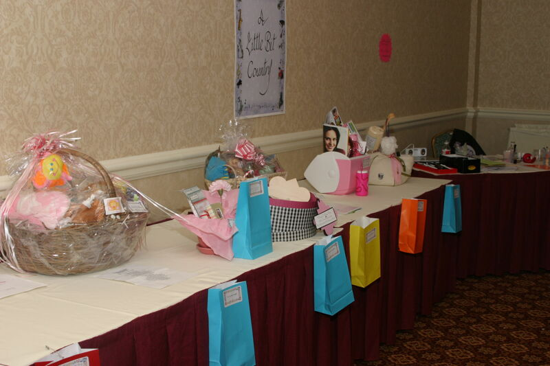 Gift Baskets Displayed at Convention Photograph 2, July 2006 (Image)