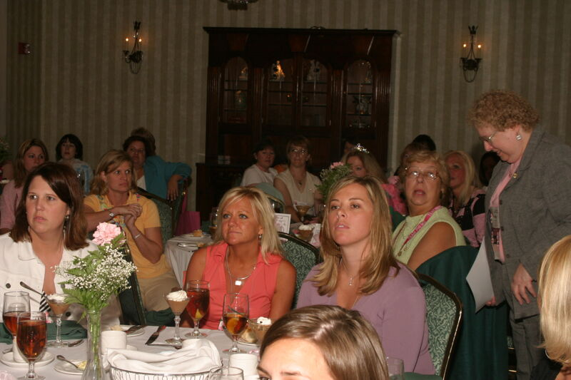 Phi Mus at Convention Officer Luncheon Photograph 1, July 2006 (Image)