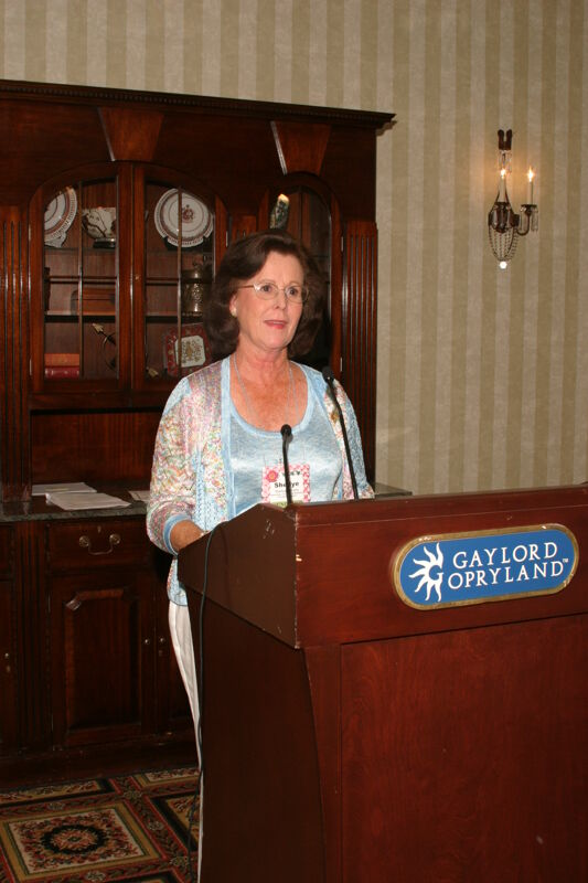 Shellye McCarty Speaking at Convention Officer Luncheon Photograph 2, July 2006 (Image)