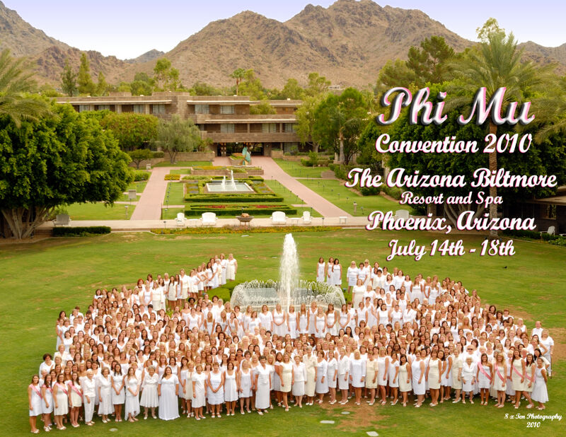 Phi Mu National Convention Group Photograph, July 14-18, 2010 (Image)
