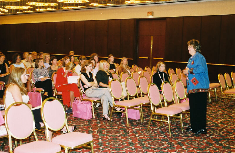 Kathy Williams Leading Convention Workshop Photograph 3, July 4-8, 2002 (Image)