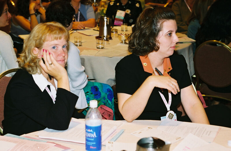 Two Phi Mus in Convention Discussion Group Photograph 3, July 4-8, 2002 (Image)