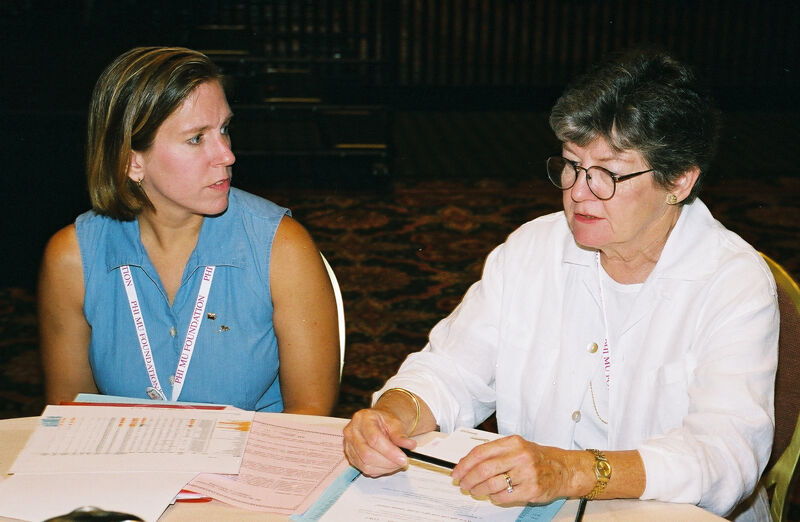 Two Phi Mus in Convention Discussion Group Photograph 5, July 4-8, 2002 (Image)