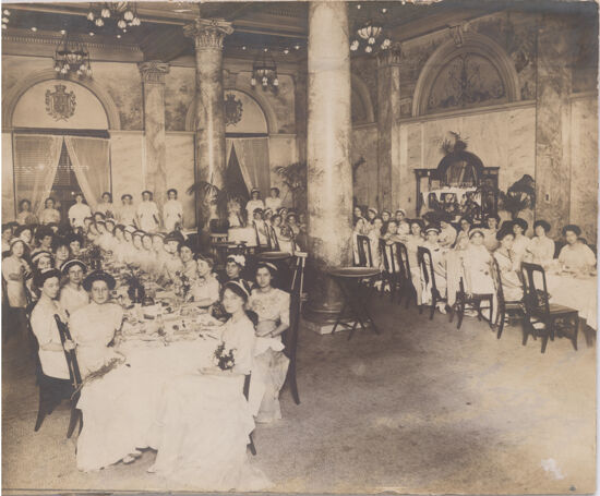 National Convention Banquet Photograph, 1911 (Image)