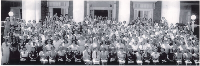 Phi Mu National Convention Group Photograph, June 24-29, 1950 (Image)